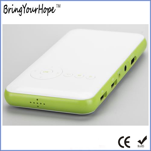 Fashion Wi-Fi E-Share Airplay Mobile Mini Smart Projector in 1080P (XH-MSP-001)