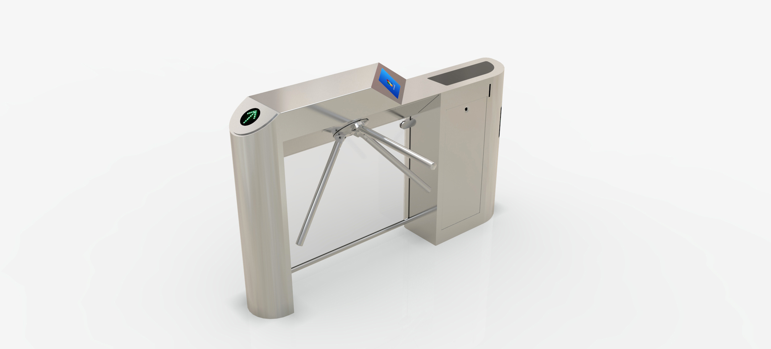 Automatic Tripod Turnstile Gate for Ticket Checking System