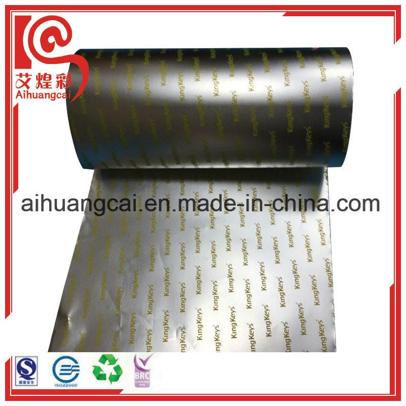 Plastic Film Aluminum Foil Roll
