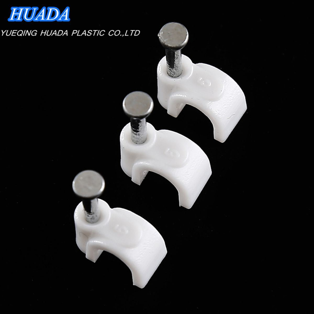 Nail Cable Clip/Plastic Nail Hook Clip/Cable Holder Clips