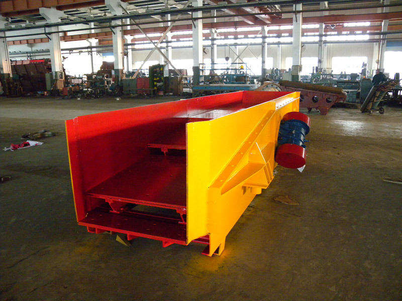 Vibrating Grizzly Feeder for Stone Crushing Plant