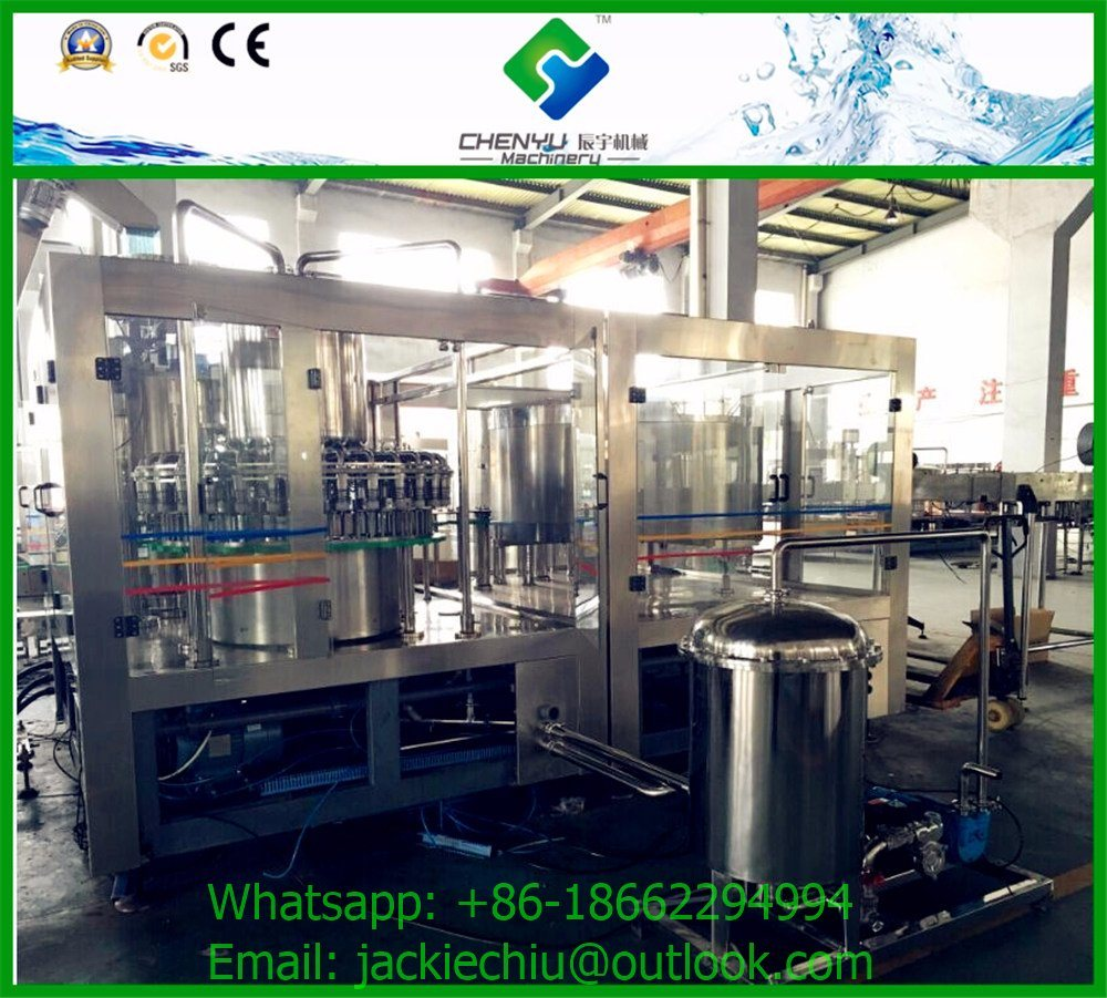 Automatic Plastic Bottle Carbonated Soft Drink Water Filling Machine