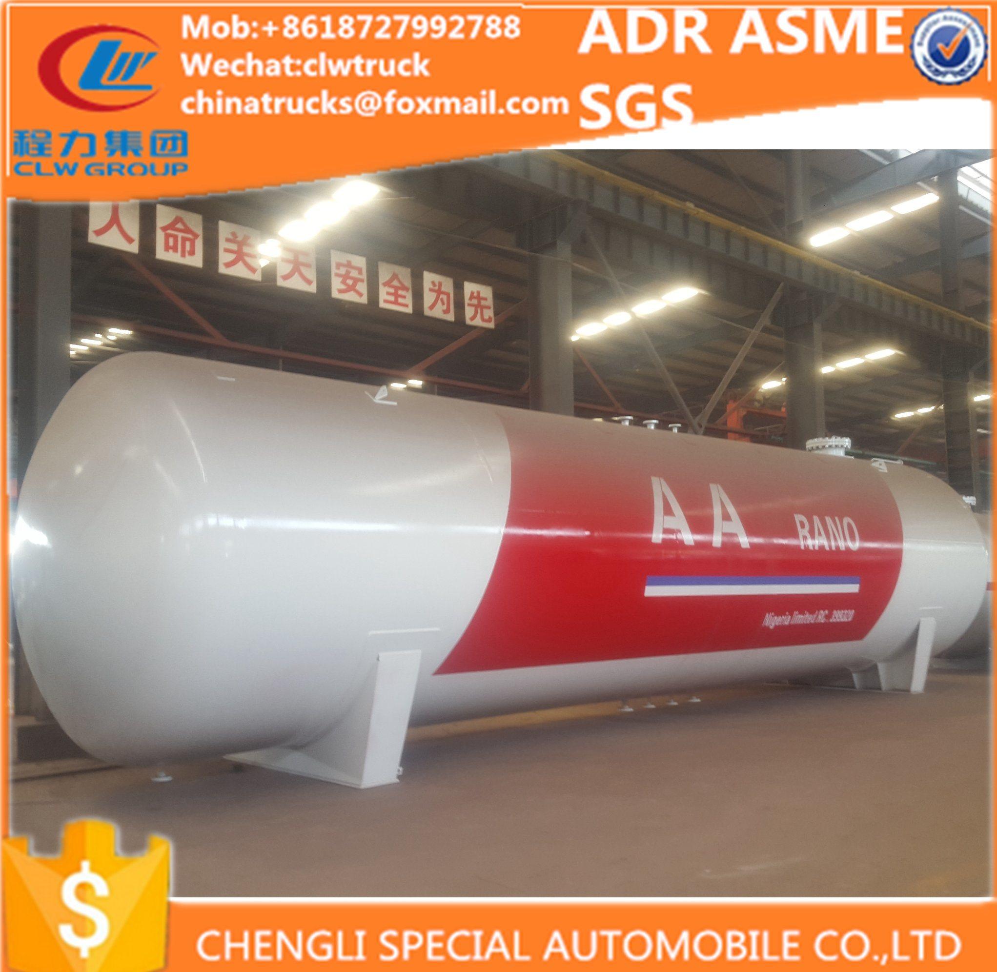 65000liters ASME Diesel S516 Steel LPG Auto Tanker