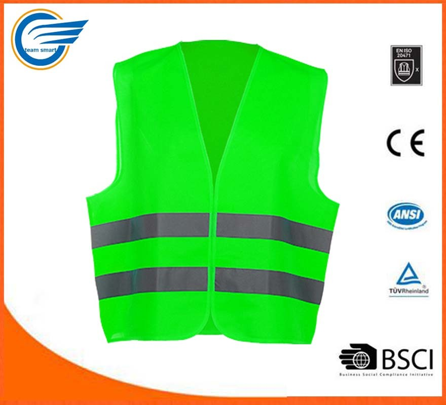 High Visibility Reflective Safety Vest with En20471
