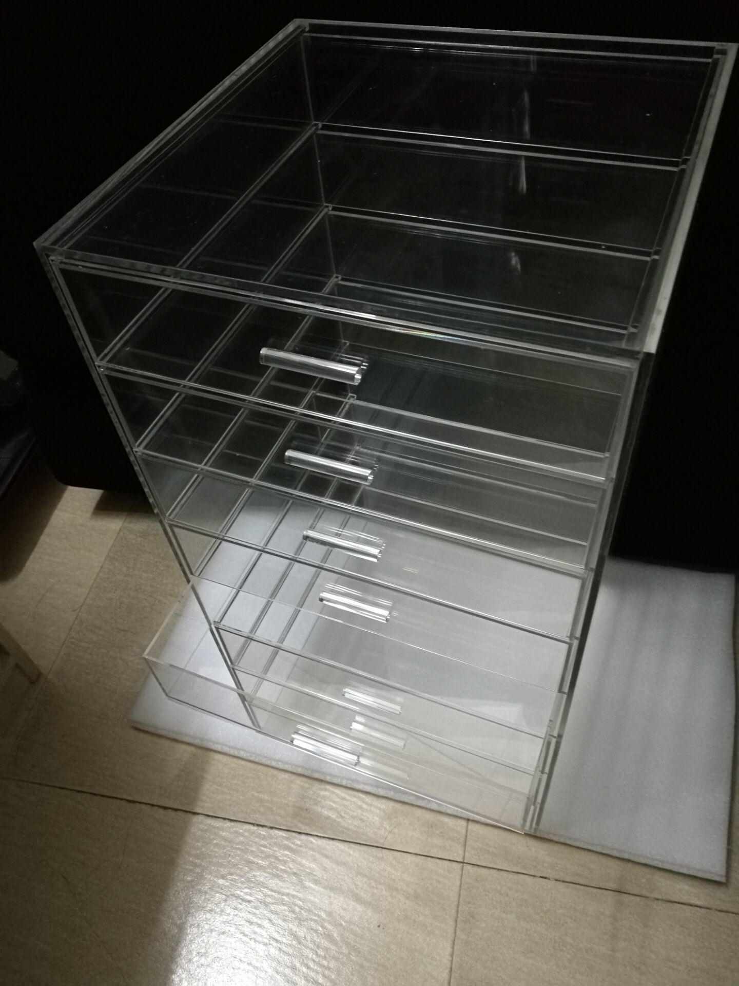 Clear Plastic Acrylic Make up Organizer