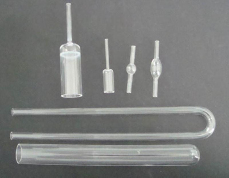 Transparent Spring Quartz Glass Tube as Request
