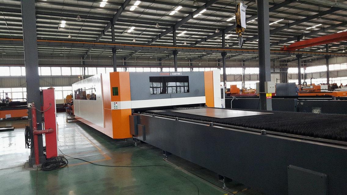 500W, 1000W, 2000W, 4000W Ipg CNC Fiber Laser Cutting Machine