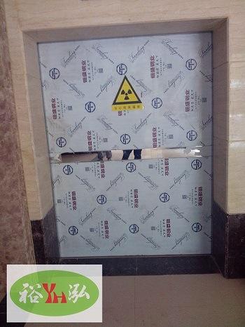 CT Room Used Door Lead Door