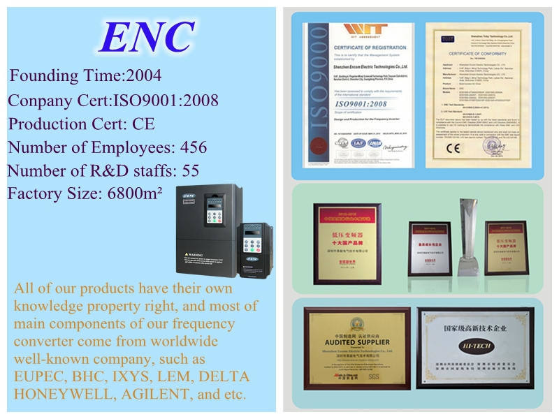 Frequency Inverter Andfrequency Converter for 3pH Motor Speed
