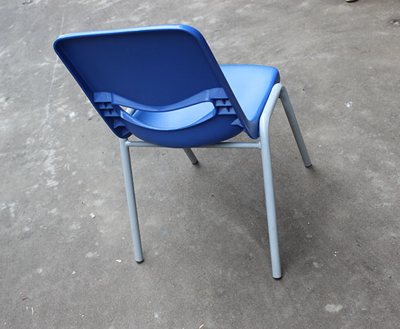 Comfortable School Chairs with Writting Board Classroom Furniture Training Chair