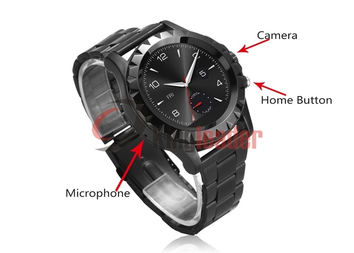 Latest 1.22 Inch HD IPS Screen Wrist Android Smart Watch with GPS (S2)