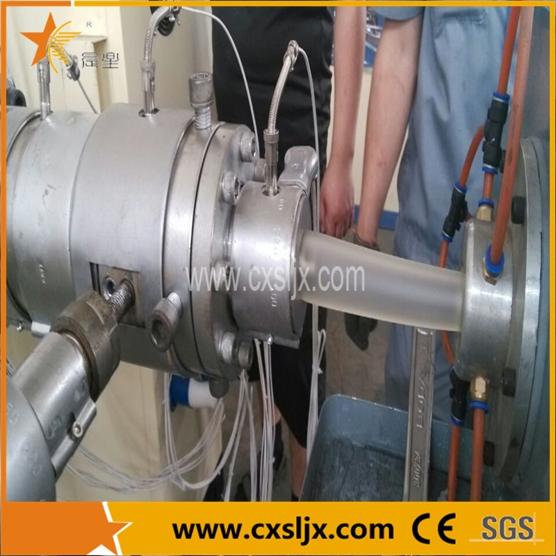 Hot Water Plastic PPR Pipe Extrusion Machine in Zhangjiagang