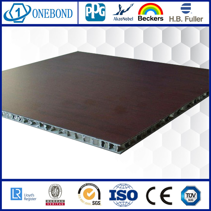 Wood Grain Aluminum Honeycomb Panel