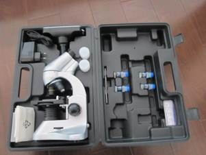 Professional Video Digital LCD Screen Biological Microscope with Software
