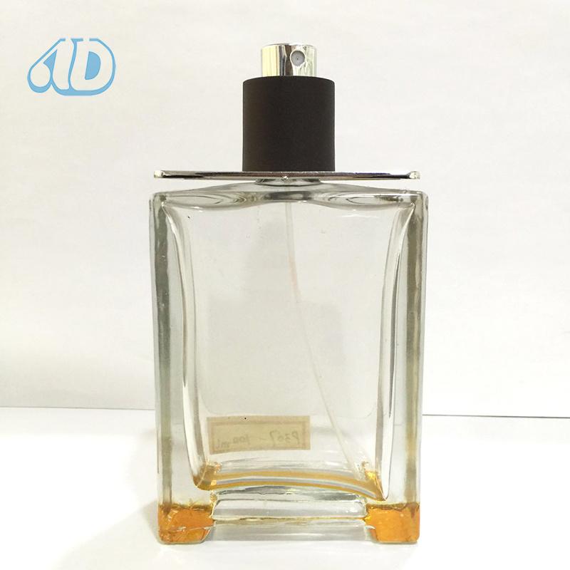 Ad-P307 Perfume Glass Square Bottle 100ml 50ml 25ml