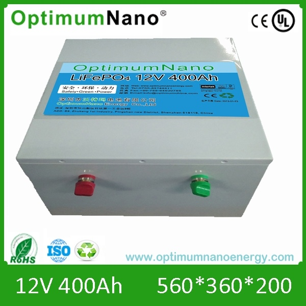 Solar Energy Storage Lithium Battery 12V 400ah