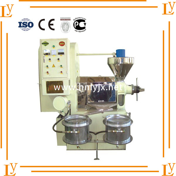 Sunflower Seed Oil Press Machine with Automatic vacuum Oil Filter