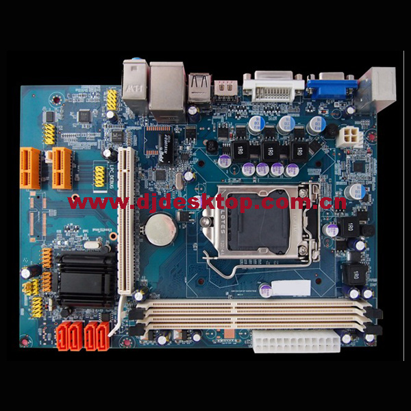2015 Best Sales H61-1155 Computer Mainboard with 2*DDR3/4*SATA/4*USB