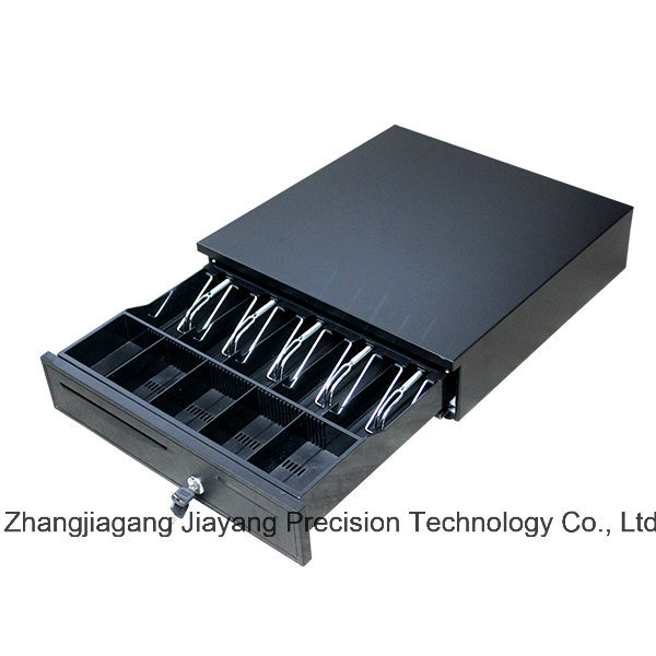 Jy-405b Heavy Duty Cash Drawer with 5 Bill Compartments and 5 Removable Coin Trays