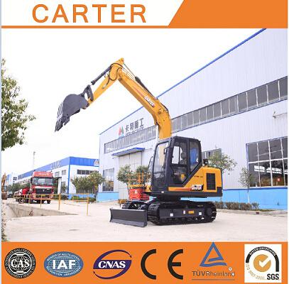 Hot Sales CT85-8A (8.5t &0.34m3) Crawler Hydraulic Power-Diesel Excavator