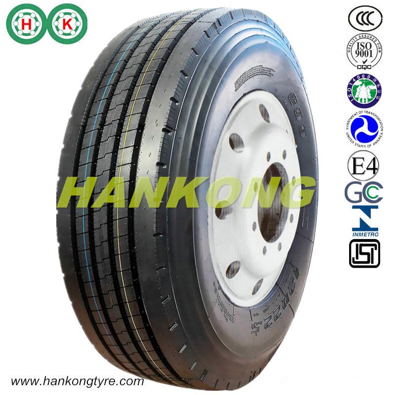 Radial Tire Steer Trailer Truck Tire TBR Tire (11R22.5, 12R22.5, 225/70R19.5)