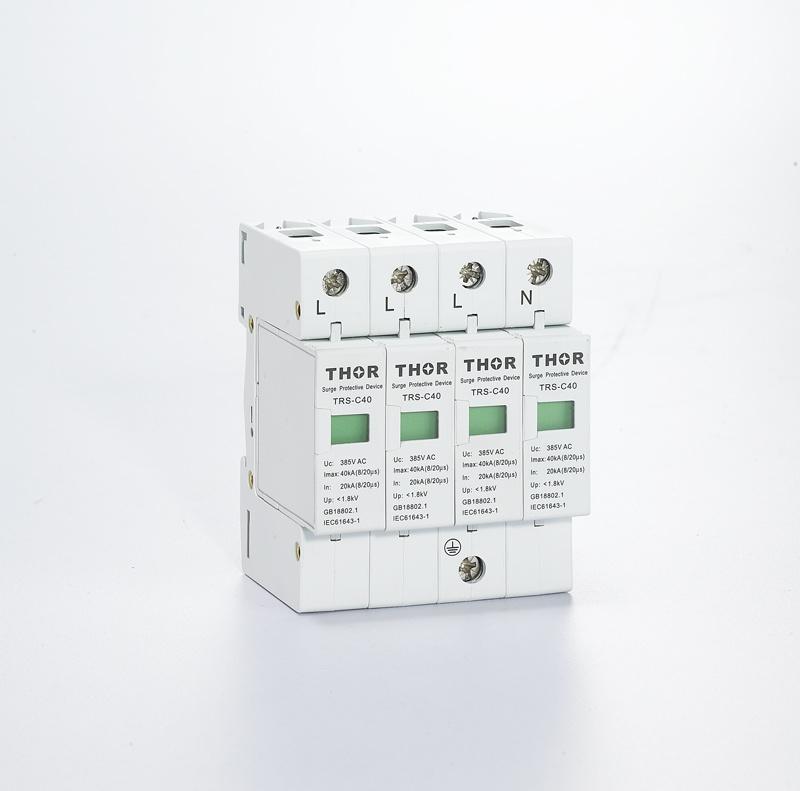IEC Certificated Class C 40ka Surge Protective Device