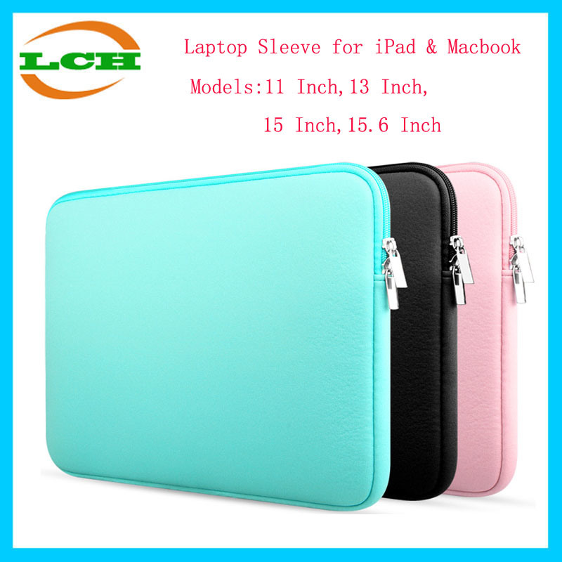 11 Inch-15.6 Inch Neoprene Laptop Sleeve/Tablet Case for iPad/MacBook