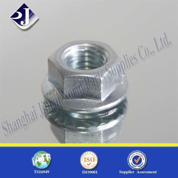 Zinc Plating Hex Flange Nut Grade 8