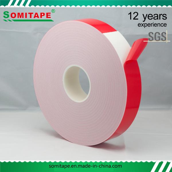Sh334 High Density PE Foam Double Sided Tape Somitape