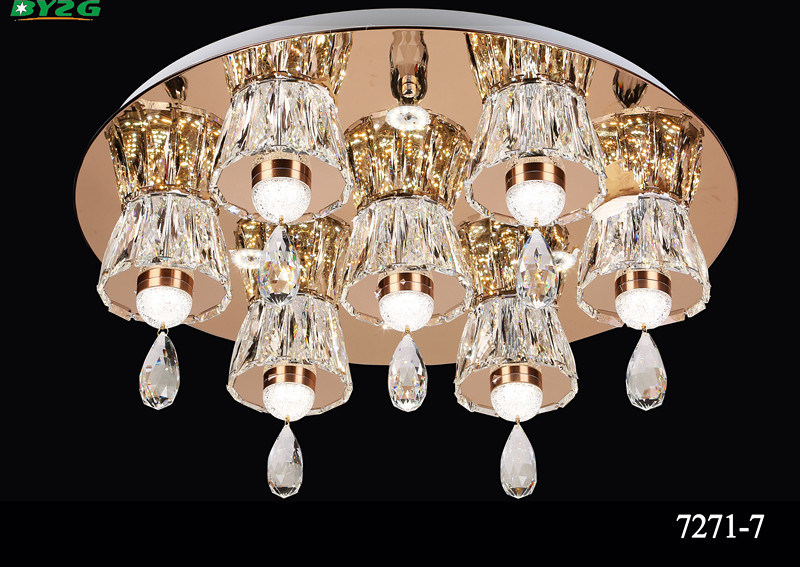 Modern Hotel Decorative Crystal Chandelier Pendant Lamp