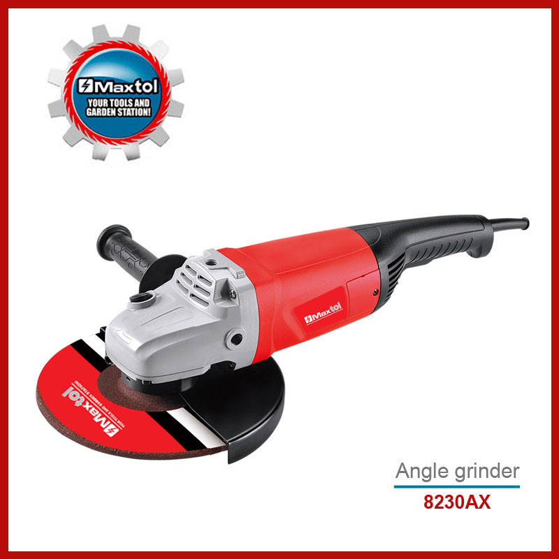 "Industry Power Tools: New 2600W 9"" (230mm) Angle Grinder- (8230AX)"