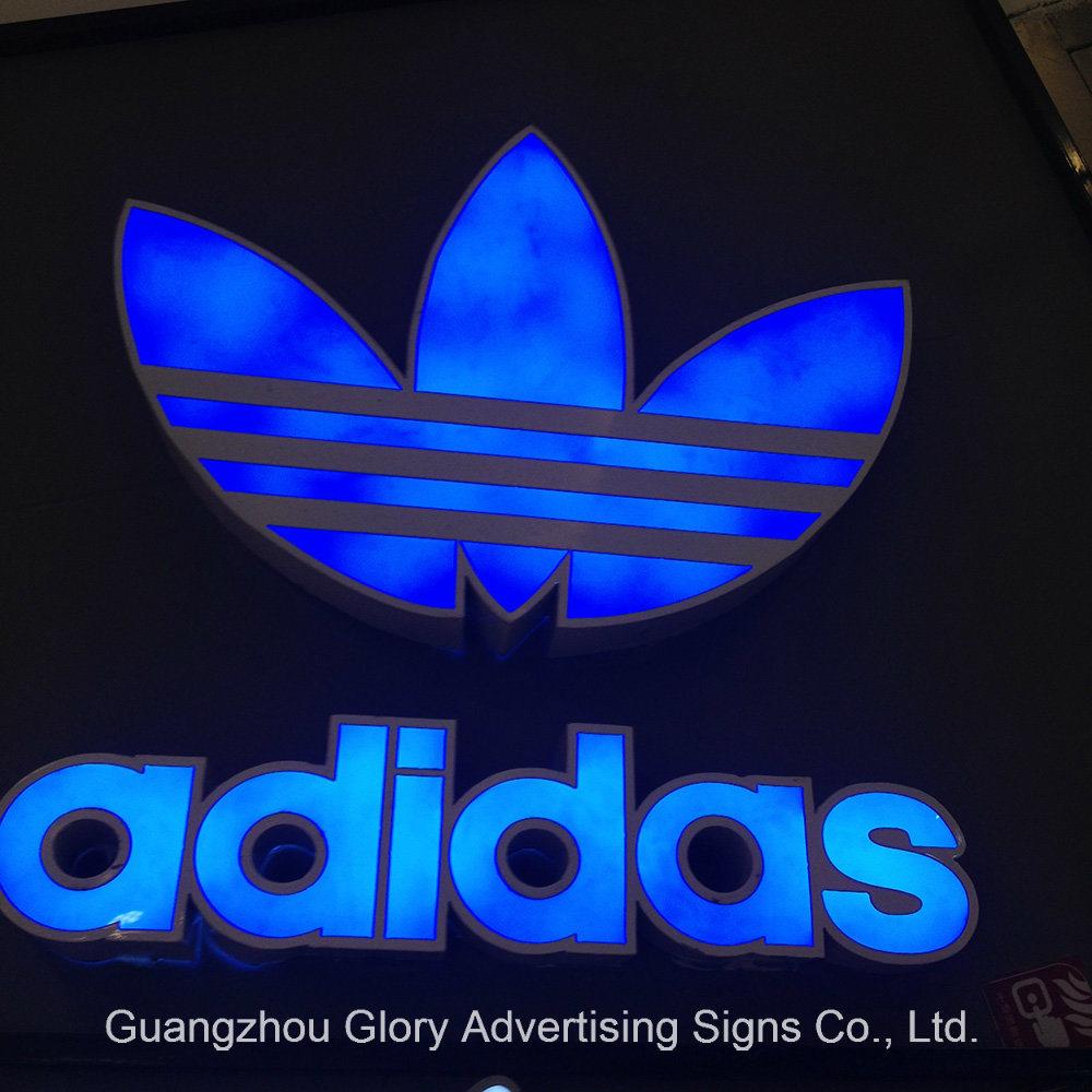 Acrylic Frontlit and Backlit Letter for Shop Sign