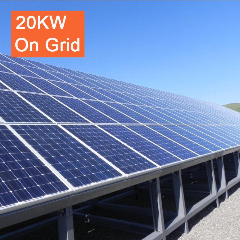 20kw on Grid Solar Energy System