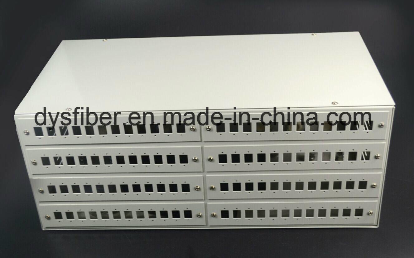4u 19′ Fiber Optical 96 Port Patch Panel