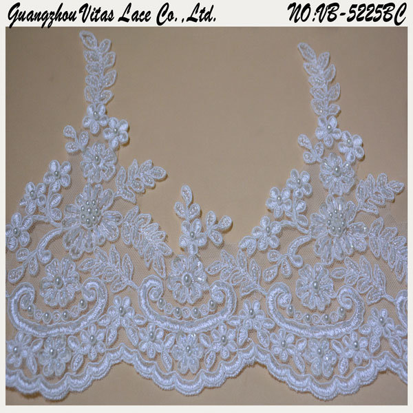 Fashion Embroidery Trimming for Wedding Lace Vbvb-5225bc