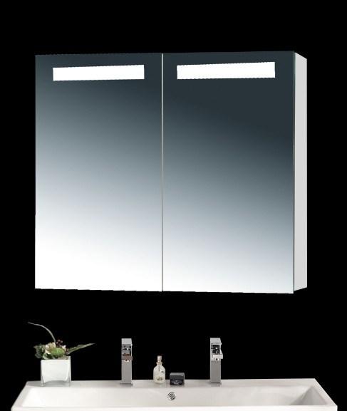 Bathroom Mirror with LED Light Bathroom Mirror with a Shelf
