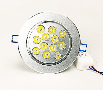 LED Recessed Ceiling Down Lights, Lamp, Downlights
