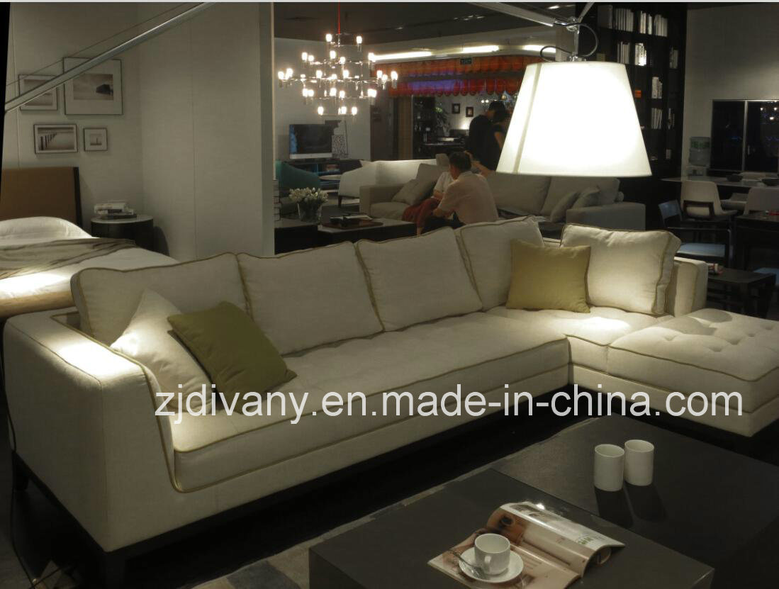 Divany Modern Style Fabric Sofa Living Room Sofa (D-68)