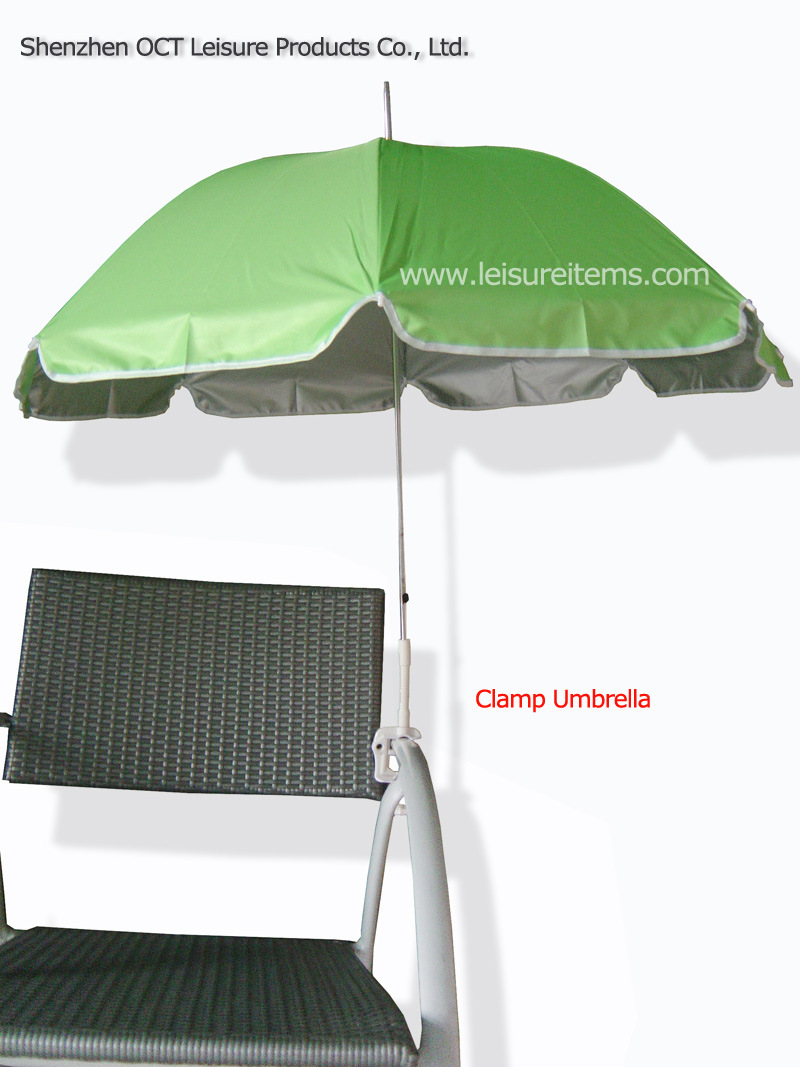 Clamp Fishing Umbrella with UV Protection