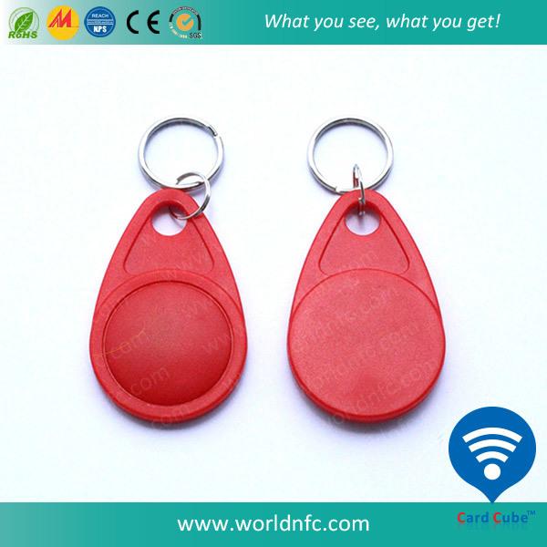 125kHz T5577 Rewritable Waterproof ABS RFID Keyfob