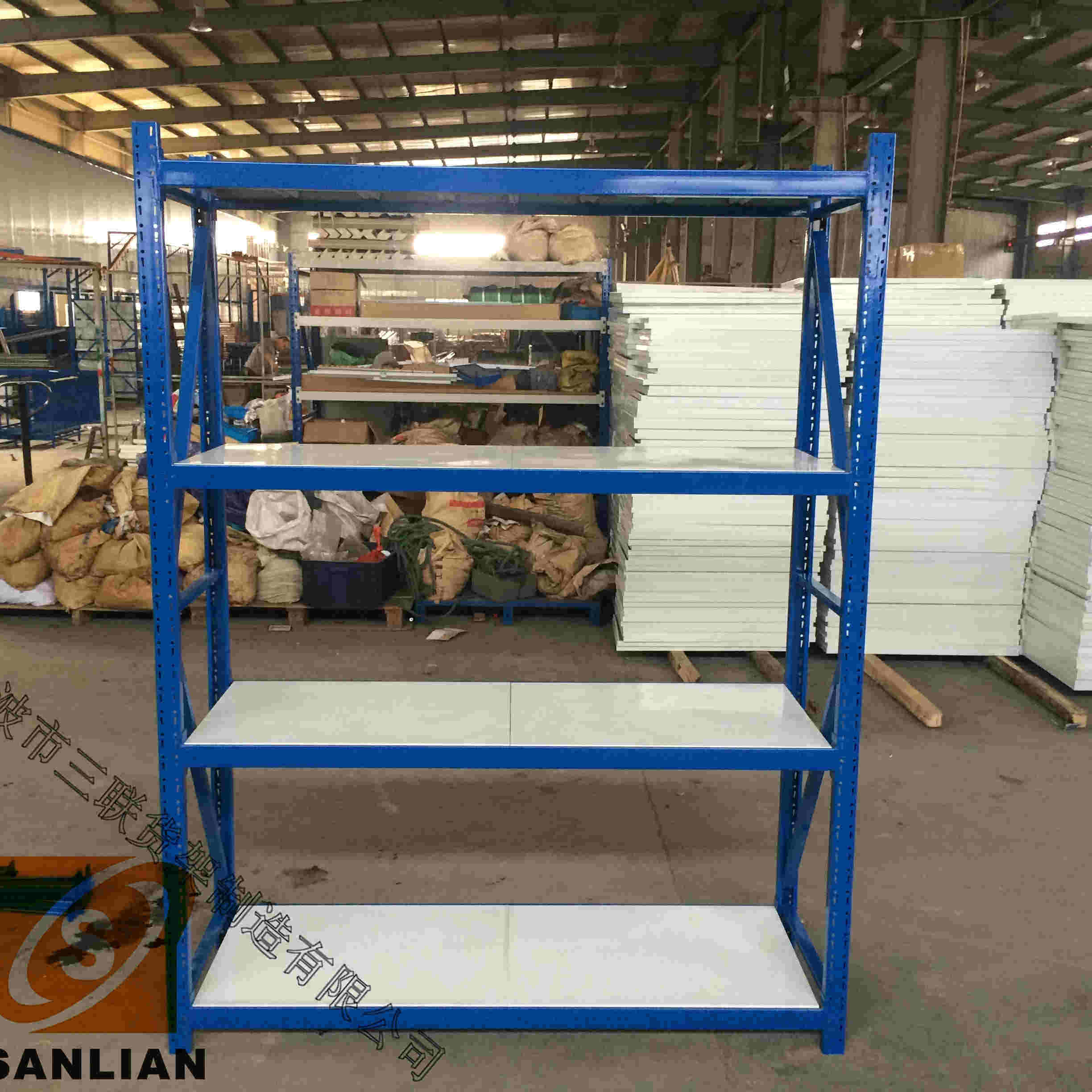 Industrial Medium Duty Adjustable Steel Storage Rack Shelves