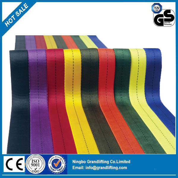 Polyester Nylon Webbing Sling, Webbing Material, Cargo Lashing, Belt, Ratchet Tie Down