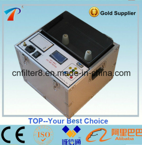 ASTM D1816 Insulating Oil Dielectric Strength Analyzer (DYT-80)