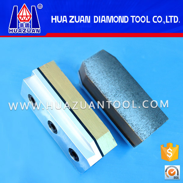 Diamond Fickert Abrasive Diamond Metal Grinding Block for Brazil Granite