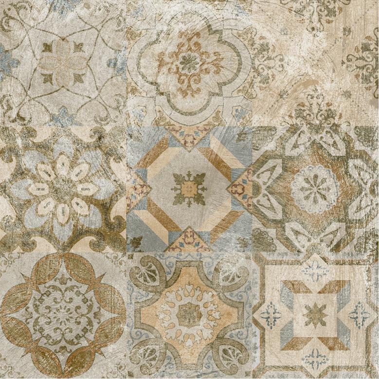 Parquet Flooring Rustic Glazed Floor Wall Porcelain Tile (GD605)
