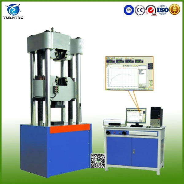 600kn Electronic Universal Material Tensile Testing Instrument