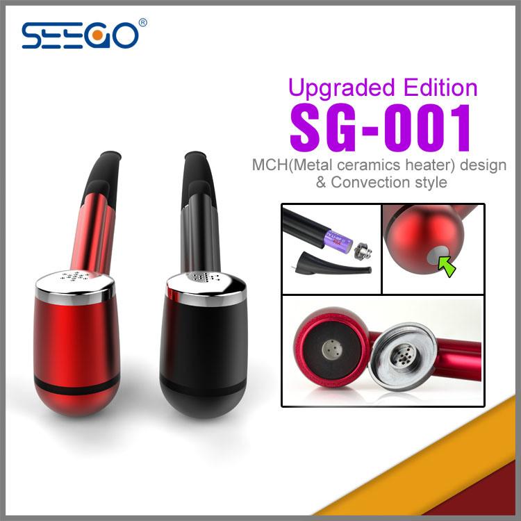 Seego Patented Hot Selling E Cigarette Kit E-Pipe Sg-001 Smoking E Pipe