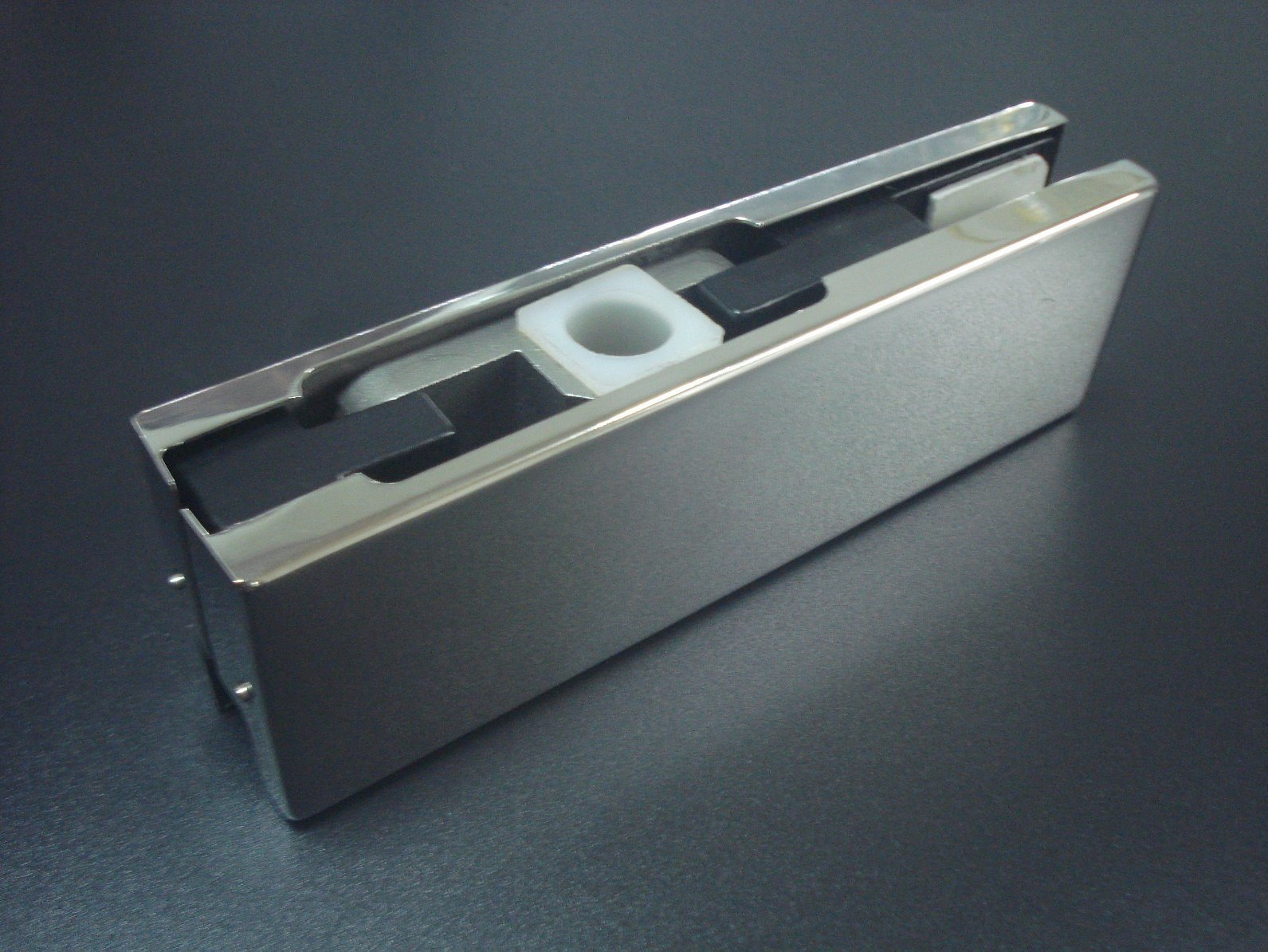 Mat Color 7.5mm Patch Fitting Dorma Glass Door Connector