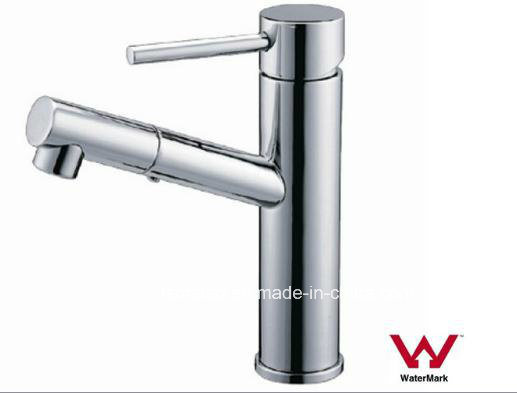 China Manufactured Watermark and Wels Approval Bathroom Sanitary Ware Brass Body Chrome Plated Water Faucet (HD6021)