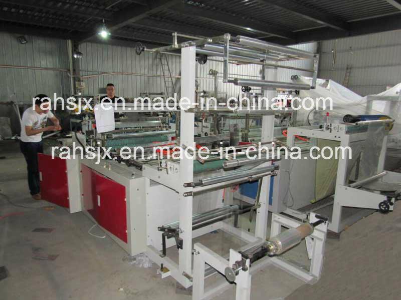 High Speed Side Sealing Heat Cutting Bag Making Machine